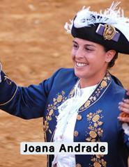 Joana Andrade a Cavaleira