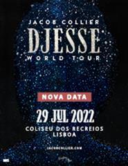 JACOB COLLIER | DJESSE WORLD TOUR | PACOTE VIP