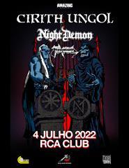 CIRITH UNGOL - Last EU Tour (with Night Demon & Toxikull)